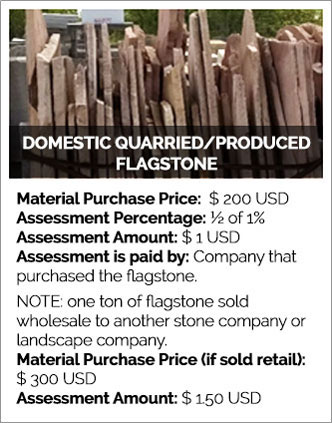 Domestic Quarried/Produced Flagstone